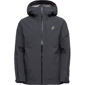 Black Diamond Recon Stretch Ski Shell Jacket Herr Carbon